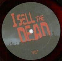 JEFF GRACE I Sell The Dead - Soundtrack Vinyl Record LP Deep Focus 2015 Red Vinyl